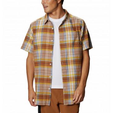 Koszula bawełniana męska Columbia Under Exposure™ Yarn Dye S/S Shirt