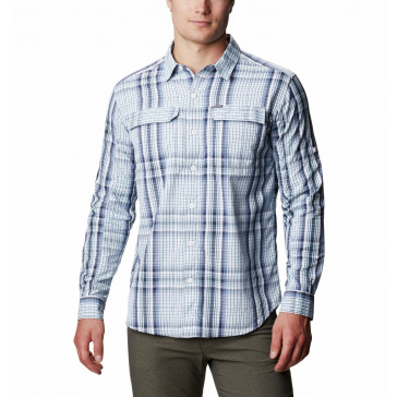 Koszula z filtrem UV męska Columbia Silver Ridge™ 2.0 Plaid Long Sleeve Shirt