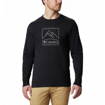 Bluza bawełniana męska Columbia Cades Cove™ Long Sleeve Graphic Tee