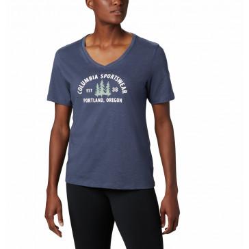 Koszulka z bawełną damska Columbia Mount Rose™ Relaxed Tee