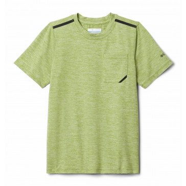 Szybkoschnąca koszulka chłopięca Columbia z filtrem UV Tech Trek™ S/S Tee