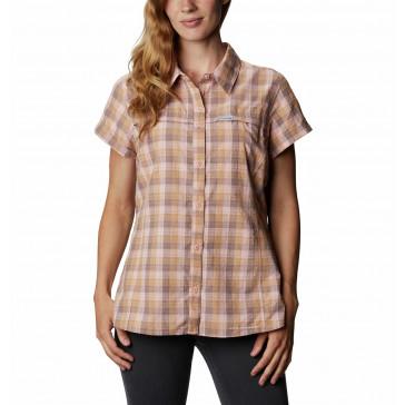 Koszula z filtrem UV damska Columbia Silver Ridge™ Novelty Short Sleeve Shirt