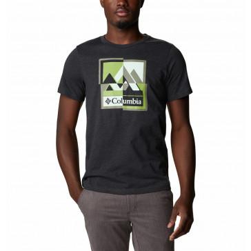 T-shirt męski Columbia z bawełną M Alpine Way™ Graphic Tee