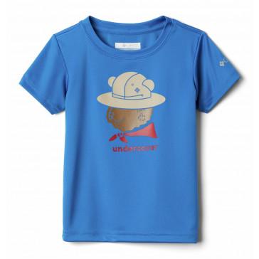 T-shirt szybkoschnący z filtrem UV dziecięcy Grizzly Grove™ Short Sleeve Graphic Tee