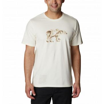 T-shirt bawełniany męski Columbia Clarkwall™ Organic Cotton Tee