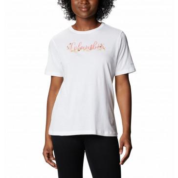 Koszulka z bawełną damska Columbia Bluebird Day™ Relaxed Crew Neck