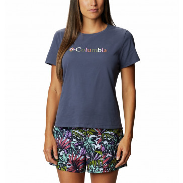 Koszulka z bawełną damska Columbia Alpine Way™ Screen SS Tee