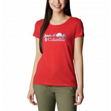Koszulka z bawełną damska Columbia Daisy Days™ S/S Graphic Tee