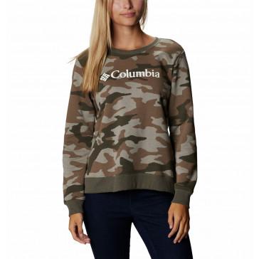 Bluza bawełniana damska Columbia Logo™ Printed Crew